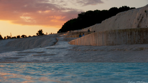 sunset june turkey amazing explore travertine pamukkale hierapolis 2013