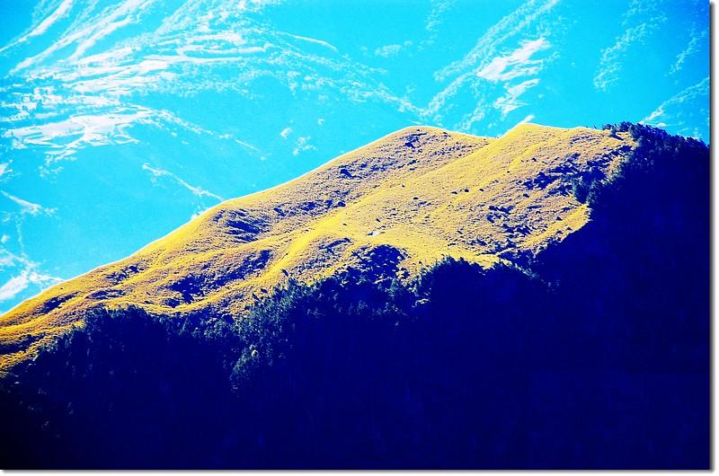 大劍山俯瞰油婆蘭山