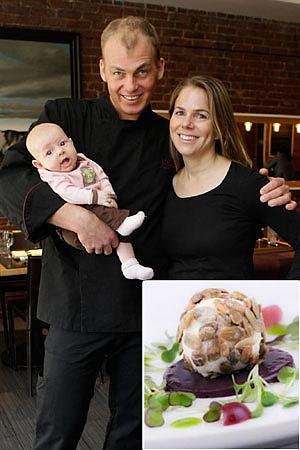 Daniel Angerer, su mujer, el niño y el queso de las sobras