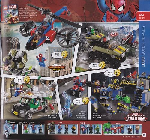 Lego Marvel Superheroes set Pics!!!!