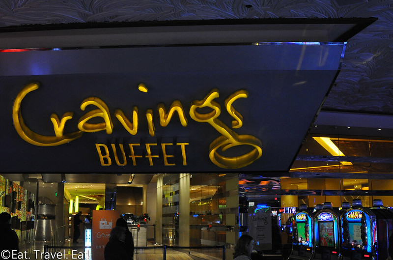 Cravings Buffet (The Mirage)- Las Vegas, NV: Exterior Signage