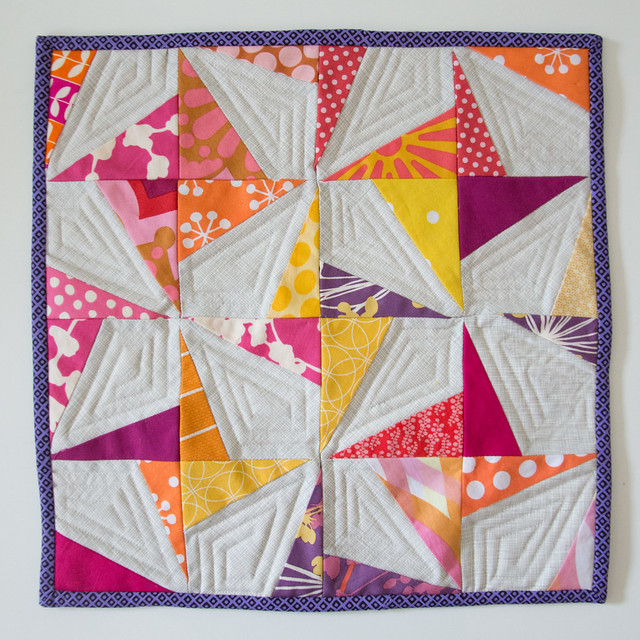 Can Can Mini Quilt - DQS14