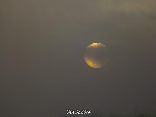 winter clouds sunrise germany landscape natur foggy landschaft