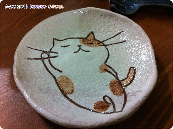 貓咪陶瓷盤