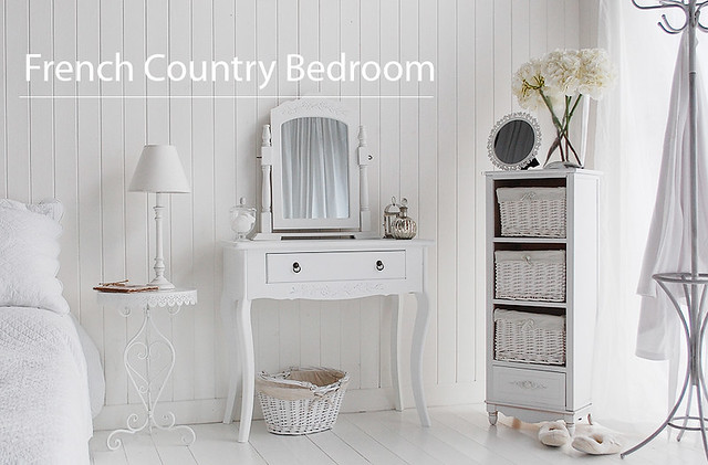 French country white bedroom furniture flickr photo for White country bedroom