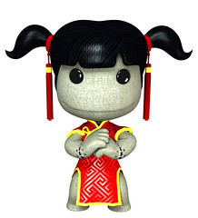 Chinese New Year Sackgirl