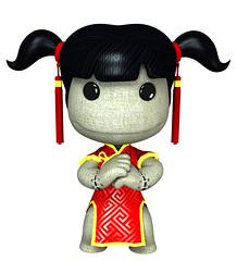 Chinese New Year Sackgirl