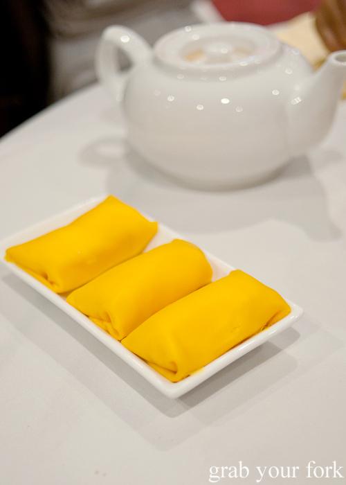 Mango pancakes at The Eight, Chinatown
