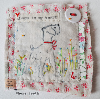 always in my heart :: brooch