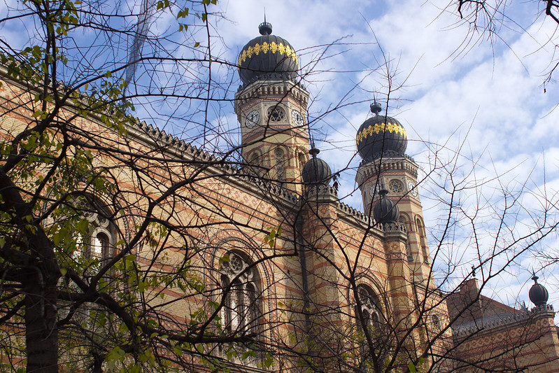 Sunday, November 17: The Great Dohany Street Synagogue is the largest synagogue in Europe.