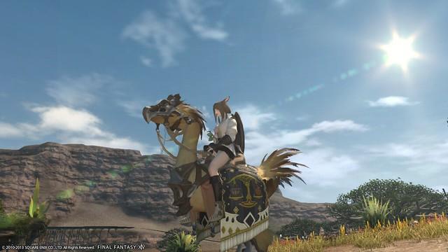 Final Fantasy Chocobo Mount