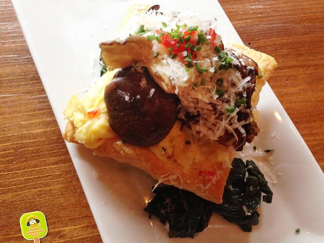 feast - brunch - wild mushroom