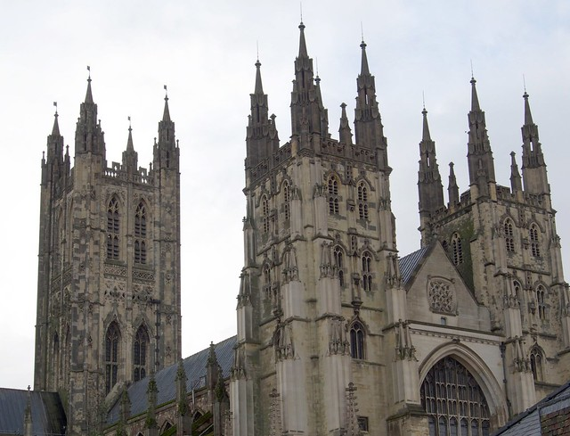 Canterbury, Cathedral, England, travel