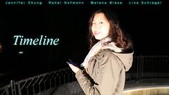 "Poster Kurzfilm ""Timeline"""