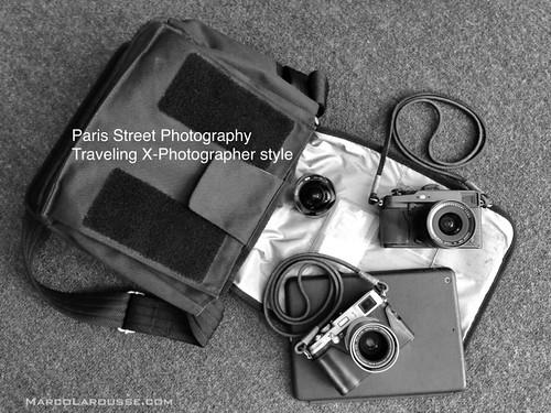 Paris streeet photography gear