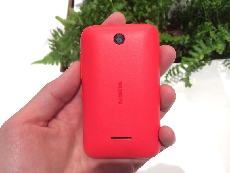 Nokia Asha 230 - Back