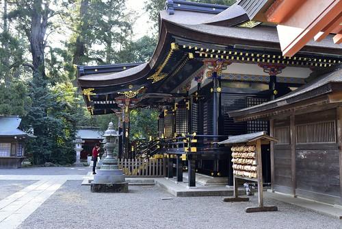 拝殿を横から by leicadaisuki