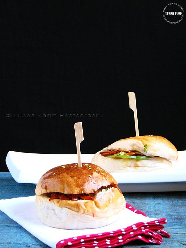 Pav Bhaji Masala Burger