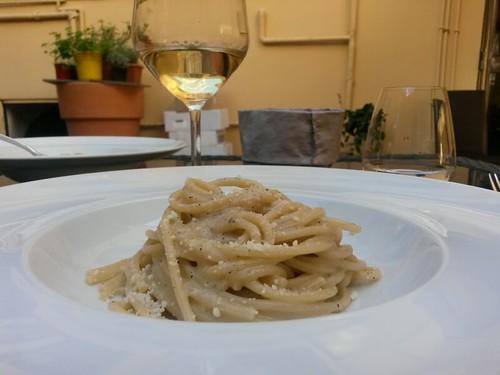 Spaghettoni Al Cacio E Pepe @ Trattoria Epiro
