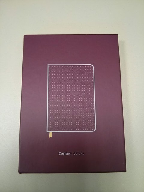 My Baron Fig notebook