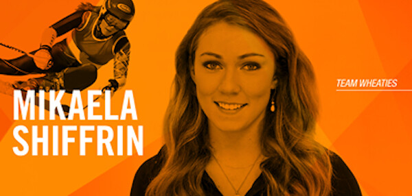 Miaekla Shiffrin Wheaties