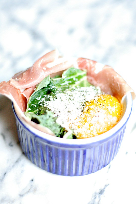 Prosciutto and Kale Egg Cups - Heather's French Press