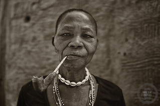 Woman from the Lobi tribe