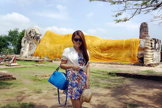 Wat Lokayasutharam, Ayutthaya, Thailand
