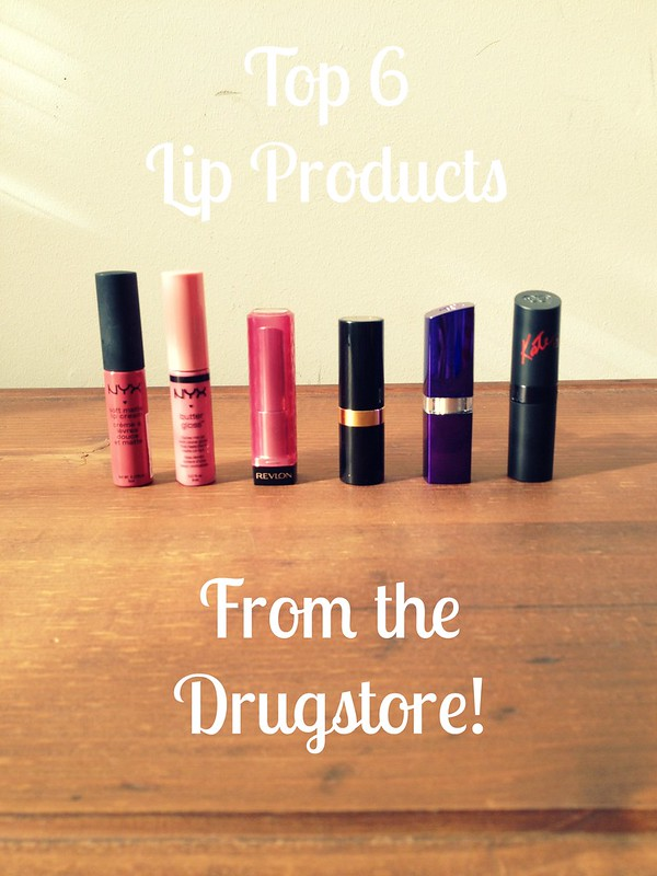 Lip Products from Drug Store 1