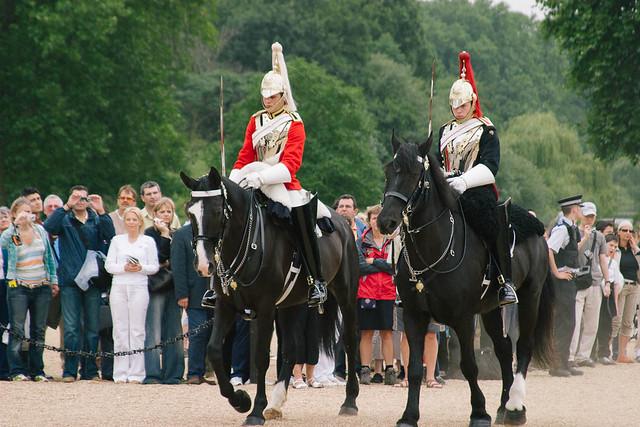 Cambio de la guardia a caballo - Londres