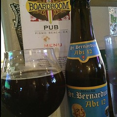 #Shedrinks posted St. Bernabus Abt 12 A tasty Belgian Dark Strong Ale with 10% ABV #wineandbeerapp