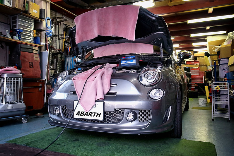 ABARTH 595 ECU tuning
