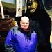 Toby & Black Bear at Niagara Falls by Toby Simkin