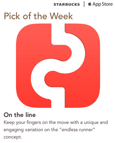 Starbucks iTunes Pick of the Week - On the line