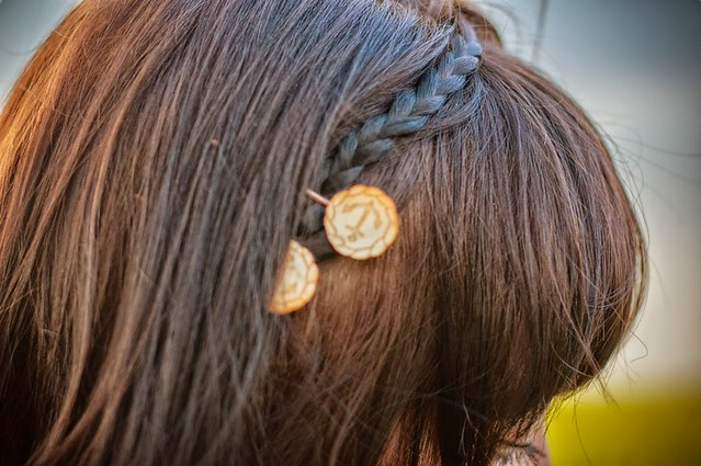 My Anchor Hairpins on Coeurs de Foxes Blog!
