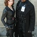 Nick Fury and Black Widow by MorpheusBlade