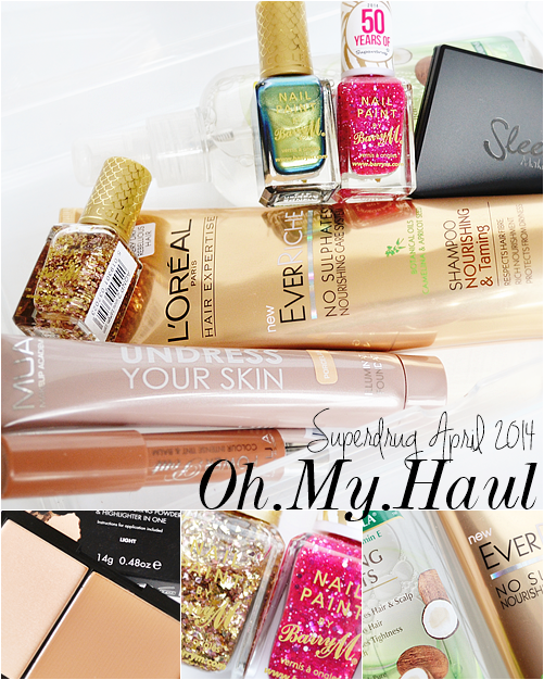 Superdrug_haul_may_2014