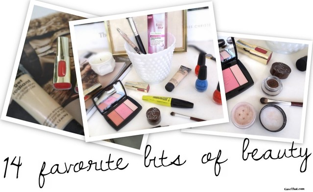 Fourteen Favorite Bits of Beauty