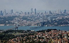 ASIA & EUROPA  UNITED BY THE BOSPHORUS BRIDGE