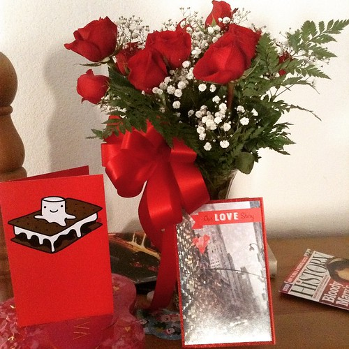 My morning surprises from my boys. Happy Valentines Day, Everyone!