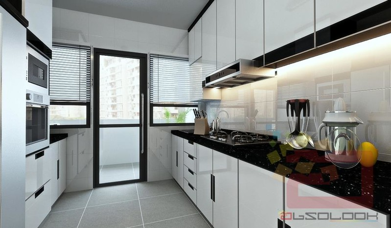 HDB 4 Room BTO   Blk 260C Punggol Topaz. Hdb 4 Room Kitchen Design. Home Design Ideas
