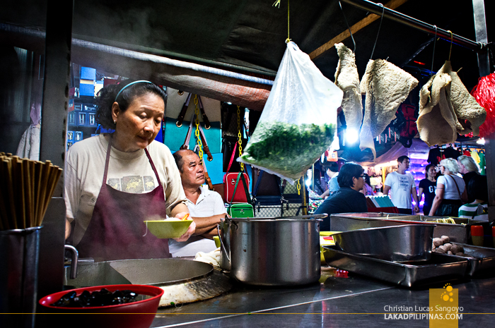 Noodle Vendor in Chinatown Kuala Lumpur