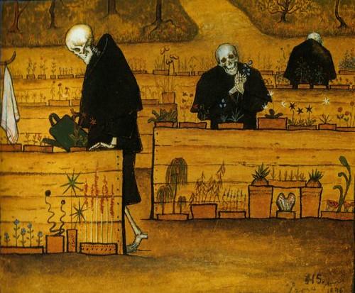 The Garden of the Dead - Hugo Simberg 1896