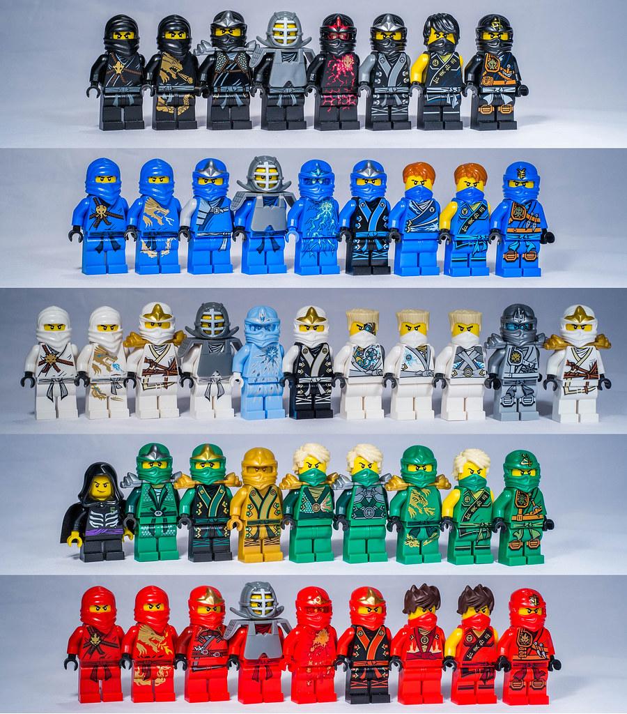 lego ninjago ninjas by gnaat_lego on flickr