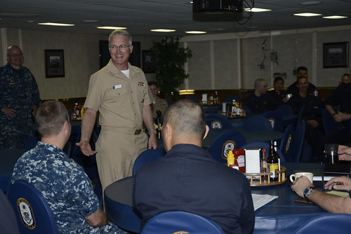 Commander, Naval Surface Forces, Visits USS Boxer