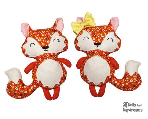 Cute Fox Sewing Pattern