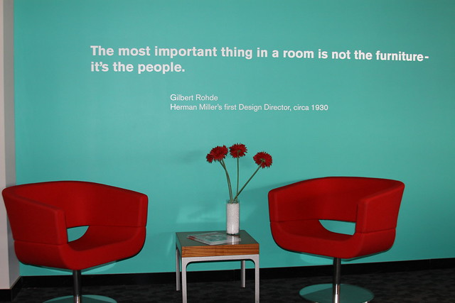 Goodmans Quote Sitting Area