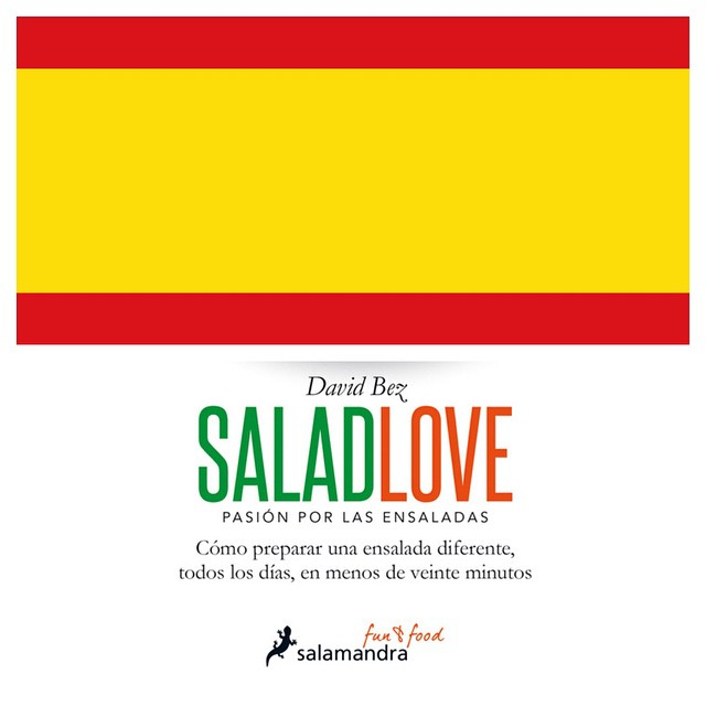 The Spanish love Salads too!  Buy the book from here: http://www.elcorteingles.es/libros/libro/salad-love-9788416295005 #raw #salad  #vegetarian #vegan   #happydesksalad #desklunch #desk #rawfood #rawvegan #veg #veganfood #veganshare #cleaneat #eatclean #