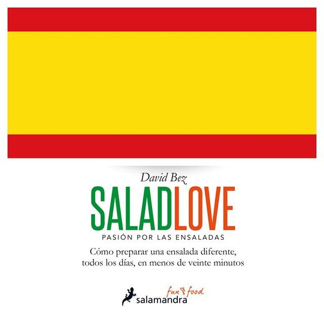 The Spanish love Salads too!  Buy the book from here: http://www.elcorteingles.es/libros/libro/salad-love-9788416295005 #raw #salad  #vegetarian #vegan   #happydesksalad #desklunch #desk #rawfood #rawvegan #veg #veganfood #veganshare #cleaneat #eatclean #