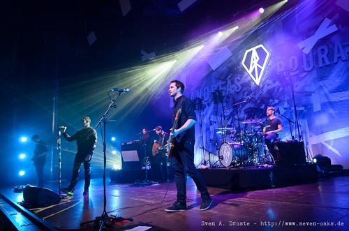 Julius Hartog, Andreas Bourani, Arne Augustin, Jacob Brass, Ralph Rieker & Jürgen Stiehle / Andreas Bourani & Band (SAD_20150119_NKN7181)
